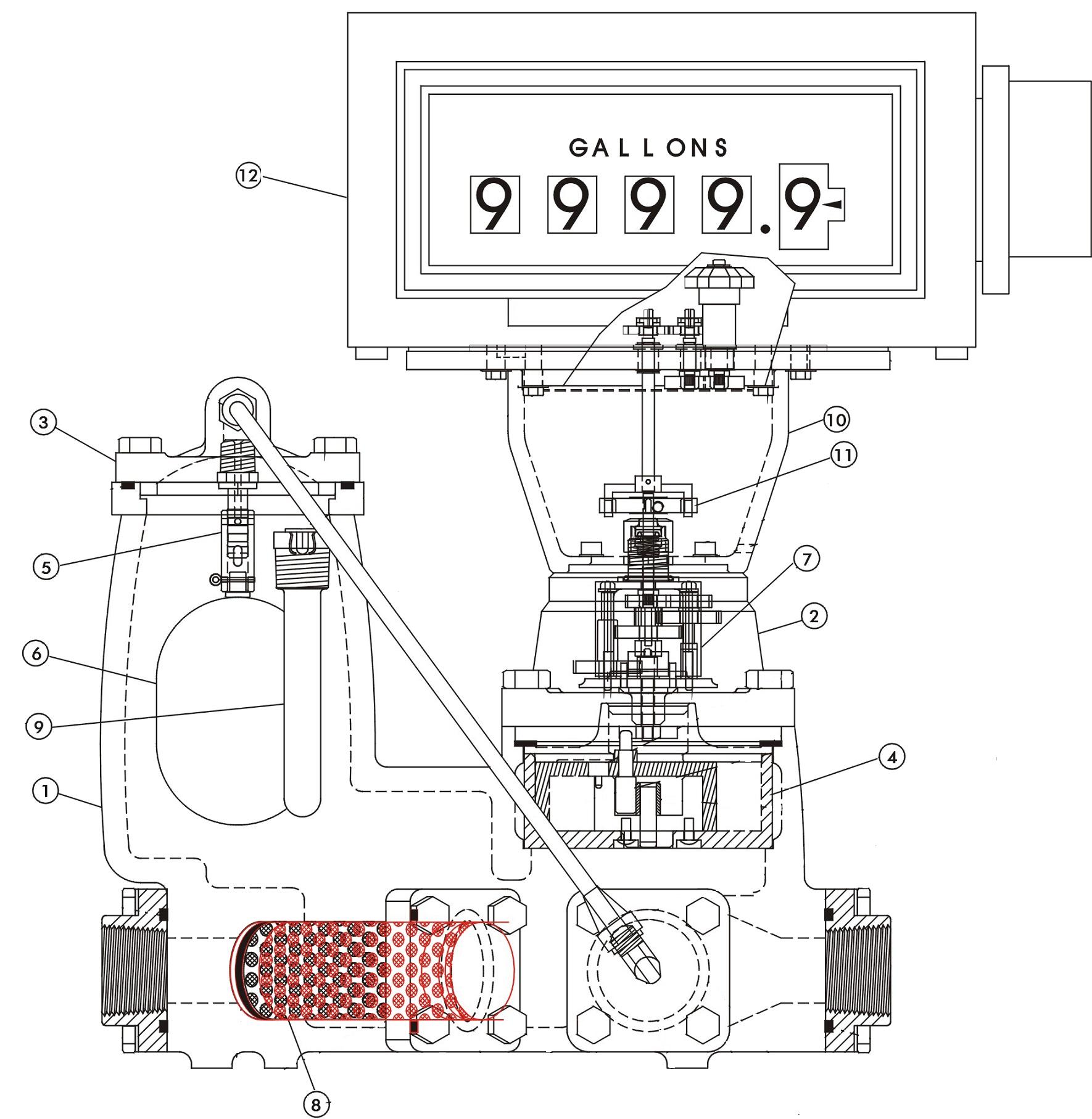 Расходомер LPM-200 Liqua-Tech